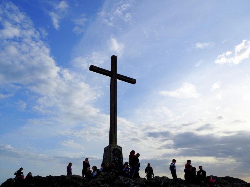 w drodze na Bray Head Cross