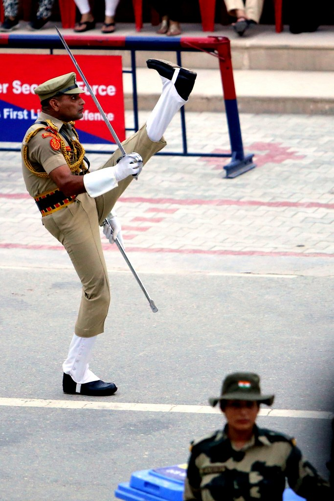 indian_soldier_walking_with_highly_rised_legs