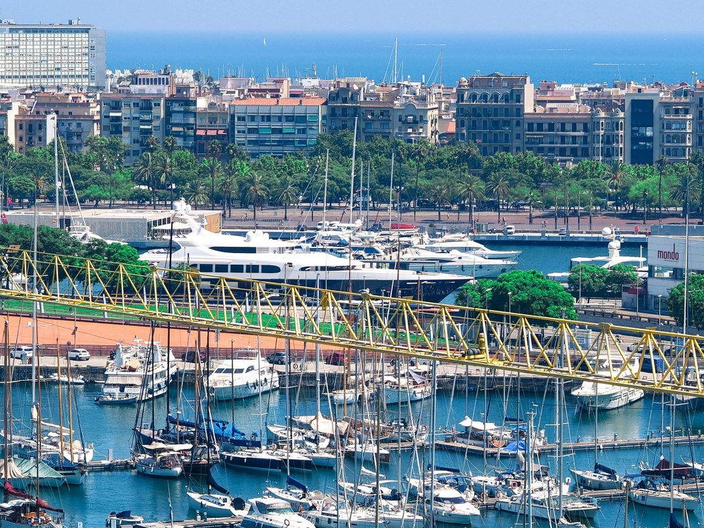 a_panoramic_view_of_barcelonas_harbour