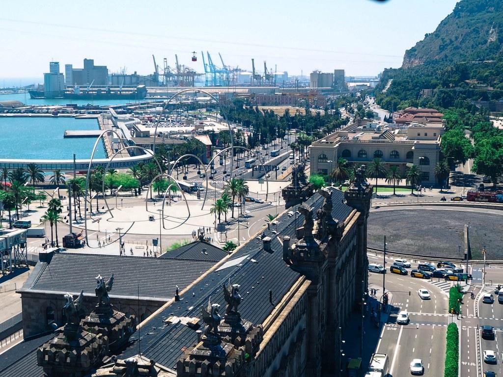panorama_of_barcelona_harbour
