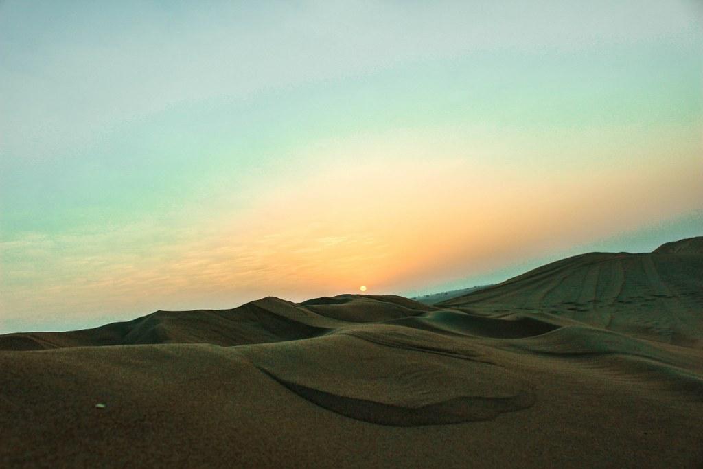 sunset_on_a_desert
