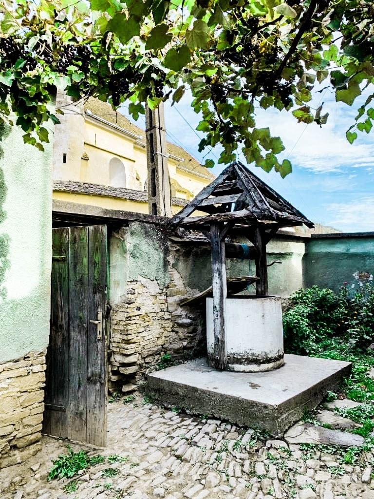 old-well-in-romanian-abandonen-villeage